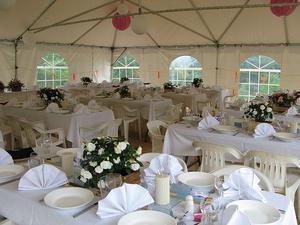 Comment décorer une tente pour un mariage