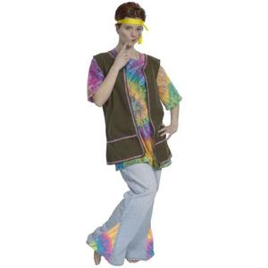 disco des années 1970 ou les Costumes de Hippie