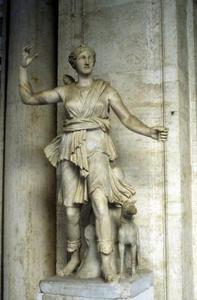 Fêtes de la déesse grecque Artémis