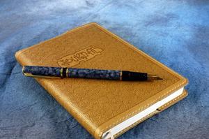 Couverture du livre Journal en cuir fait maison