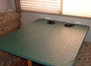Comment construire une Table pliante dans un RV