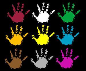 Comment peindre des empreintes de mains
