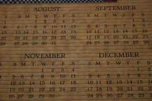 Comment créer des Mini calendriers