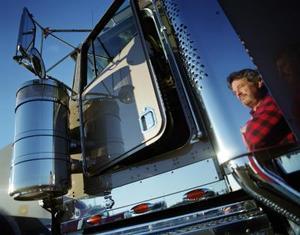 Comment faire pour monter dans une cabine de camion