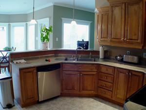 Comment faire pour remplacer les portes d 39 armoires de - Remplacer porte cuisine ...