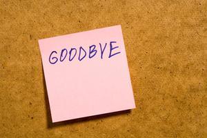 Comment dire adieu en différentes langues