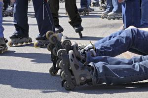 Quelle est la différence entre les patins à roulettes & Quad patins ?
