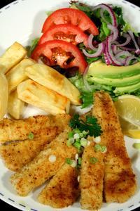 Friteuses de poissons maison
