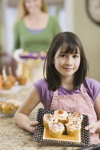 Idées pour décorer les Cupcakes pour les petites filles