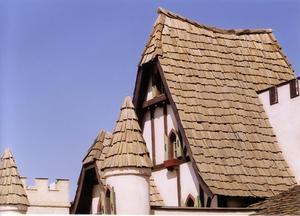 Matériaux utilisés pour la construction d'une maison médiévale moderne