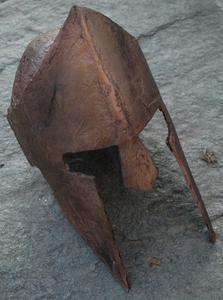Comment faire un casque de Spartan bataille
