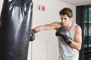 Formation de mannequin pour la boxe
