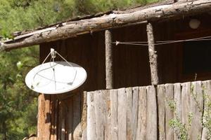 Maison antenne parabolique pour un t l phone cellulaire for Antenne cellulaire maison