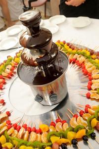 Idées de barre de fontaine de chocolat