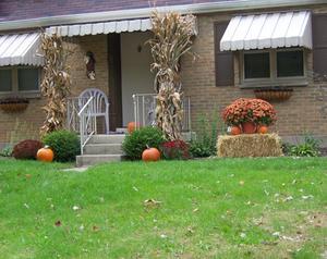 Porche, idées de décoration pour Halloween