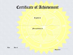 Comment dois-je concevoir un certificat de mérite ?
