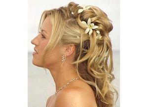 Comment choisir une coiffure de fête nuptiale