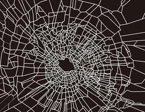 Comment réparer une vitre fissuré