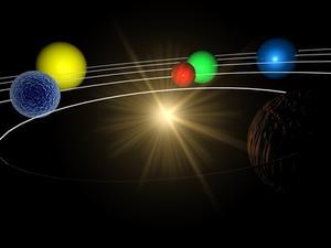 BRICOLAGE sur comment faire un Mobile du système solaire