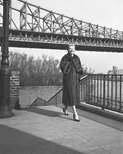 Manteaux de mode des années 1950