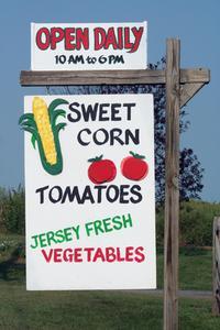 Comment faire en vendant des fruits argent & légumes en provenance d'un stand de produits
