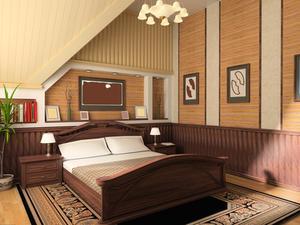 Idées de couleur pour chambres de maître romantique
