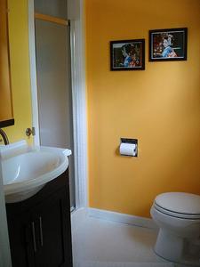 Idées de Design de salle de bain contemporaine