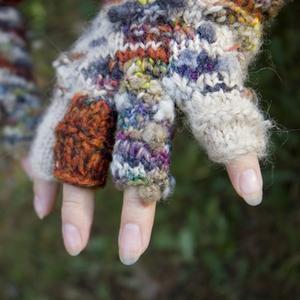 Comment crocheter la moitié gants à doigts