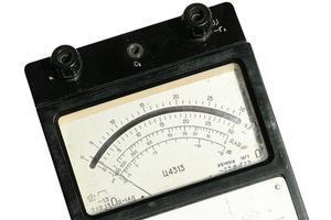 Instructions d'utilisation de volt mètre
