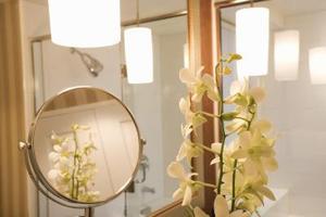 Comment faire pour obtenir le feu dans une salle de bains sans fenêtre