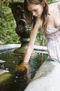 Fontaines de jardin funky