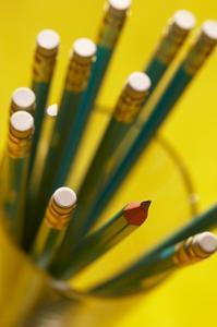 Simple crayon Topper artisanat pour enfants