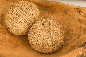 Comment couper une noix de coco enveloppé