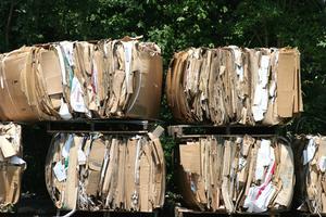 L'utilisation de recyclage dans un projet d'Art avancé