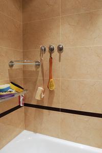 Idées d'utilisation salle de bains carrelage