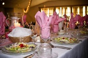 Mes idées mariage réception Table Setting