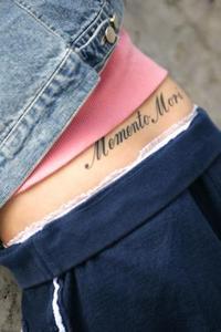Idées de tatouage lettrage fantaisie