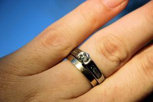 Quelle est la signification des anneaux sur la gauche & main droite ?