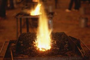 Comment allumer une Forge forgeron
