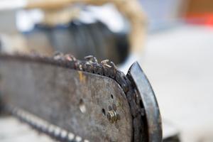 Comment faire une chaîne d'extraction pour une scie à chaîne