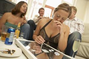 Symptômes d'abus de drogues chez les élèves de collège