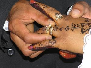 Directions de tatouage au henné