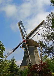 Indications sur la façon de construire un modèle d'un moulin à vent