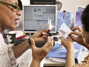 Comment faire un origami papier machine gun