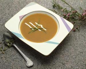 Herbes pour la soupe de potiron