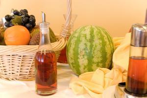 Boissons du vinaigre aromatisé aux fruits
