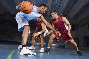 Entraînement des qualités de basket-ball