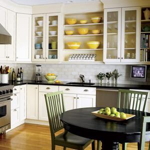 Idées pour les armoires de cuisine peints