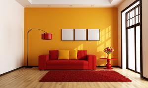 Quelles couleurs puis-je utiliser avec un canapé rouge ?