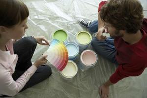 Couleurs de peinture d'intérieur neutre populaires